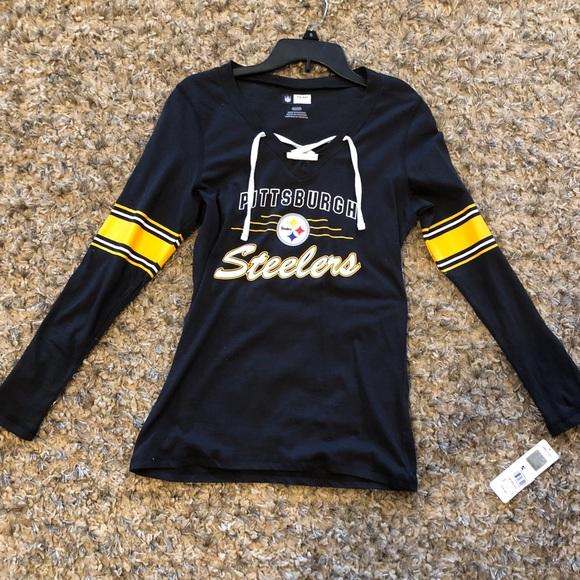 NFL Pittsburg Steelers women s long sleeve shirt 40a6db9d18